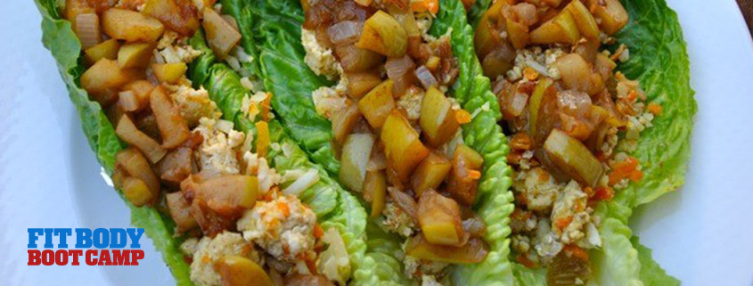 Recipes: Turkey Lettuce Wraps with Quick Apple Chutney